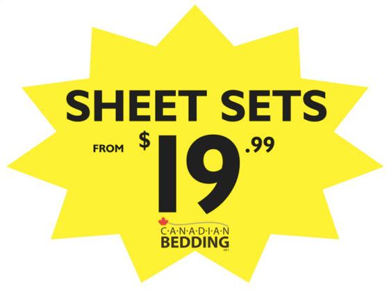 SHEET SETS 19.99