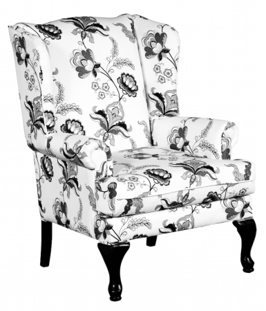 Wing Chair Grey